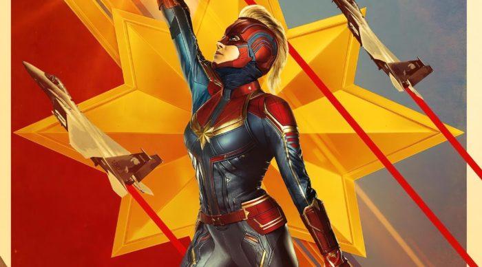 Capitana Marvel llega Más Alto, Más Lejos, Más Rápido.