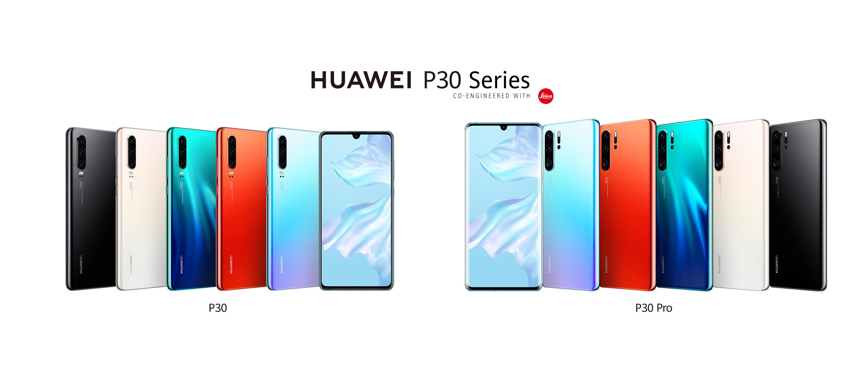Huawei presentó los HUAWEI P30 y HUAWEI P30 Pro