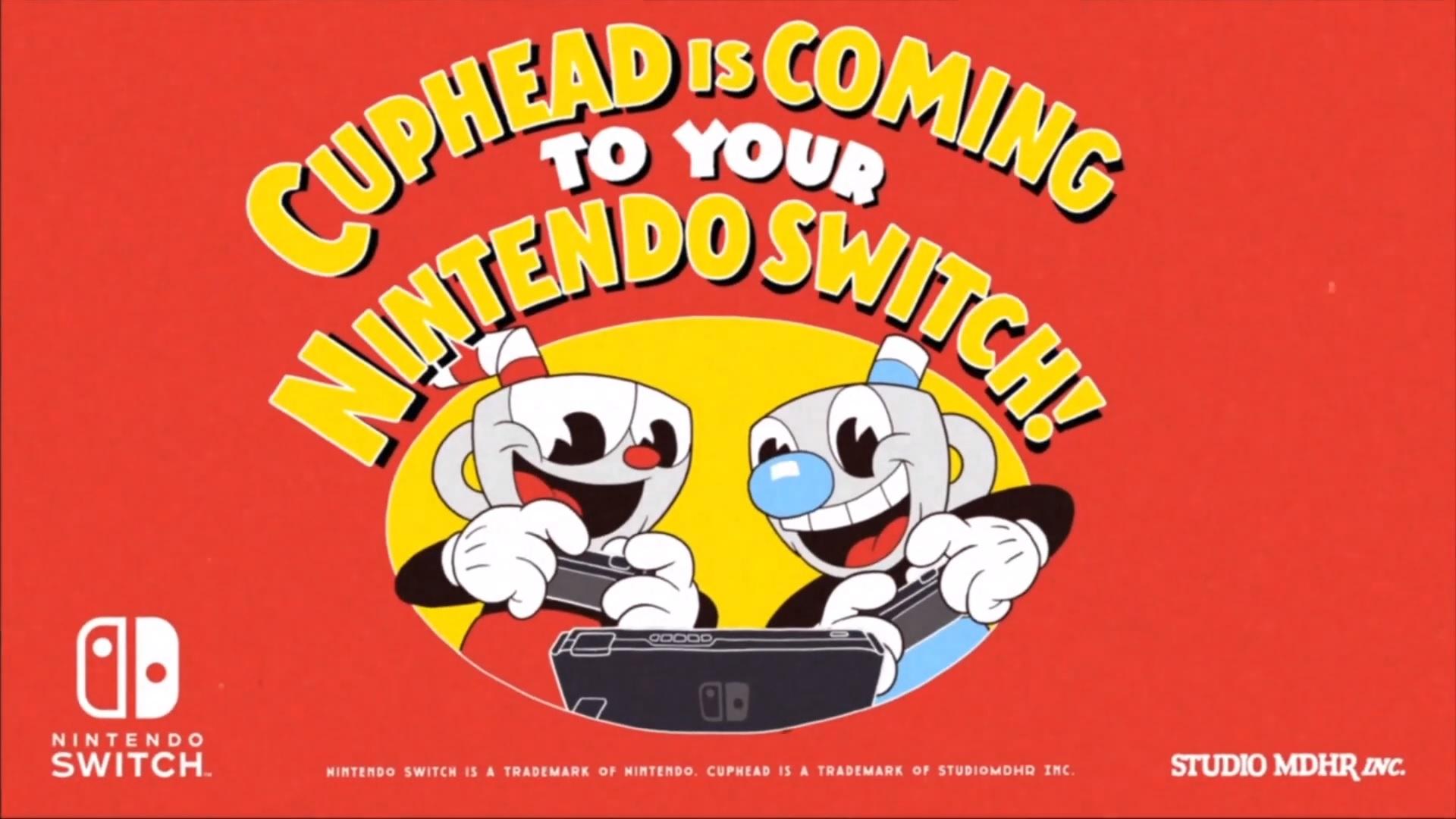 Cuphead anuncia llegada a Nintendo Switch con genial tráiler