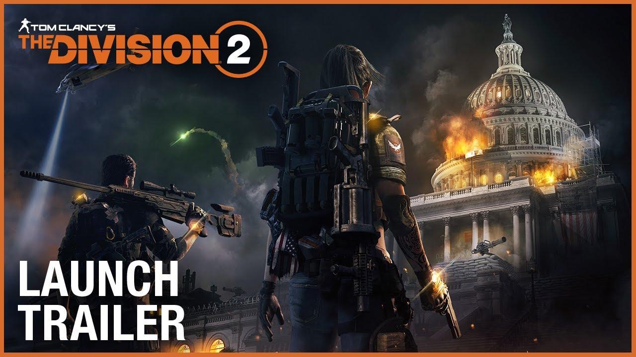 Mira el tráiler de lanzamiento de The Division 2