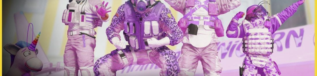 Rainbow Six Siege se vuelve kawaii con Rainbow is Magic