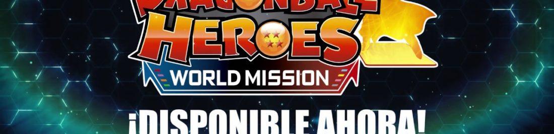 Nuevo personaje llega a SUPER DRAGON BALL HEROES WORLD MISSION