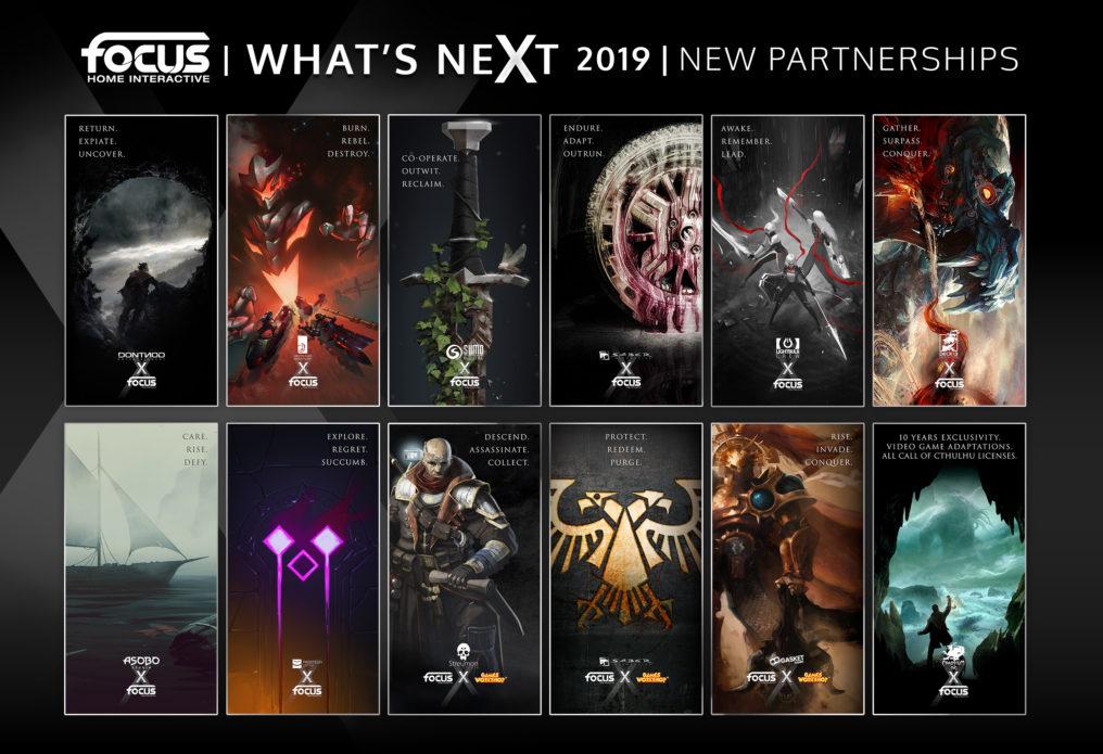 Focus Home Interactive anuncia sus 12 nuevos proyectos