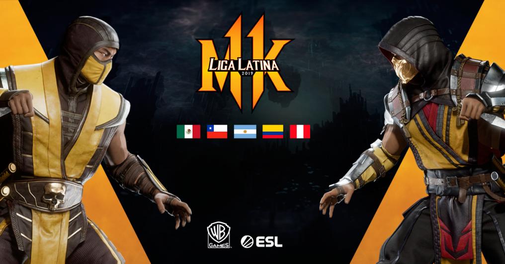 Warner anuncia la Liga Latina de Mortal Kombat 11
