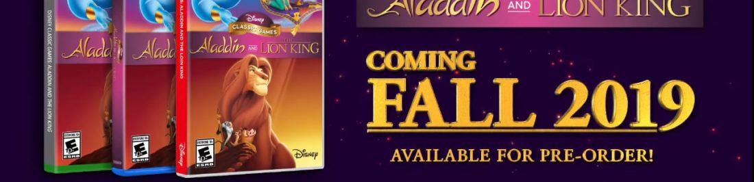 Vuelven dos de tus traumas infantiles, The Lion King y Aladdin de 16-bits remasterizados