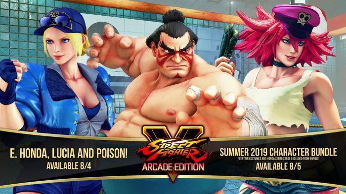 Pura nostalgia en el nuevo pack de personajes de Street Fighter V