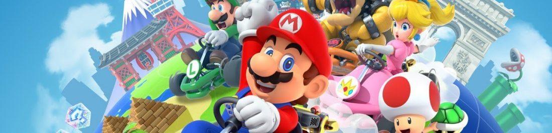 Mis primeros paseos con Mario Kart Tour