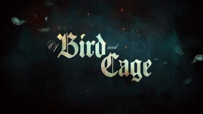 Bird and cage logo